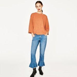 ZARA Cut-out sweater